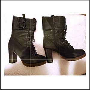 Shoes - 🔥FINAL PRICE NWOT WINTER BOOTS W/FUR AROUND ANKLE